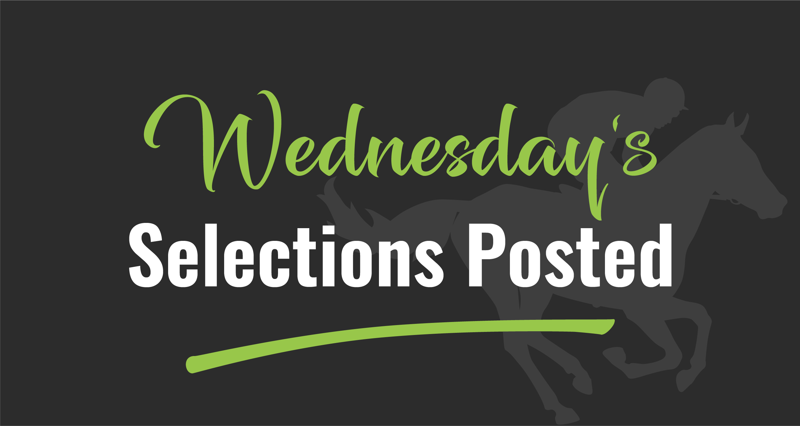 Selections Wednesday 13 March 2019